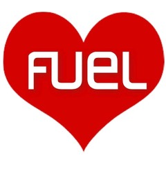 Valentines Day FUEL heart